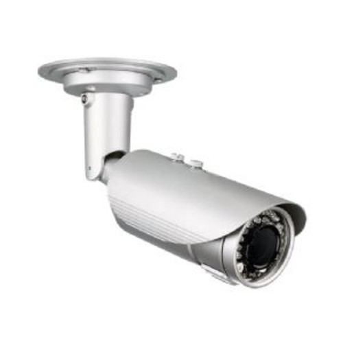 D-Link DCS-7517 - Network surveillance camera - weatherproof - color (Day&Night) - 5 MP - 2560 x 1920 - auto iris - motorized - audio - composite - LAN 10/100 - MJPEG, H.264 - DC 12 V / PoE
