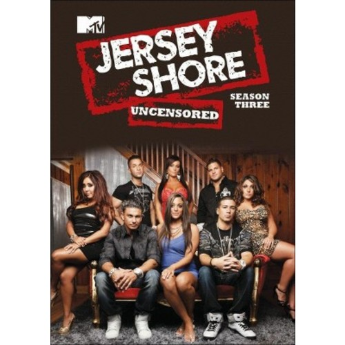 Jersey Shore: Season Three Uncensored (4 Discs) (dvd_video)