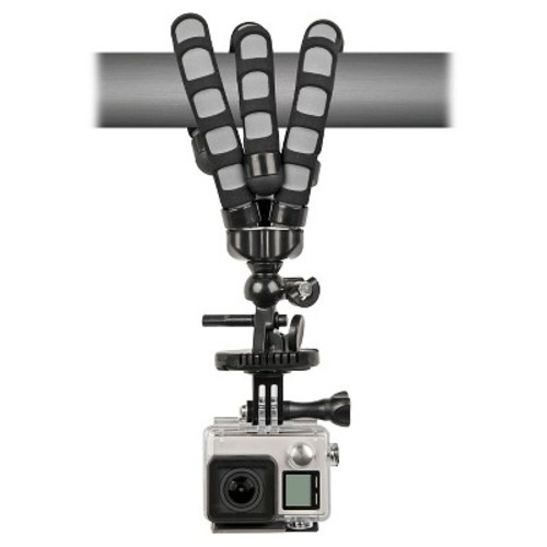 Bower Xtreme Action Series Flex Tripod for GoPro Hero 1, 2, 3, 3+, 4, 5 and Session cameras - Black (XAS-BPG)