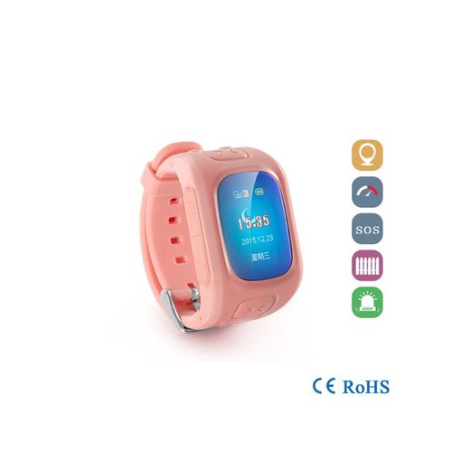 Kids Children Smart Watch GPS Position Tracker Anti-Lost Wrist Watch Phone Pedometer Sleep Monitor for iOS & Android