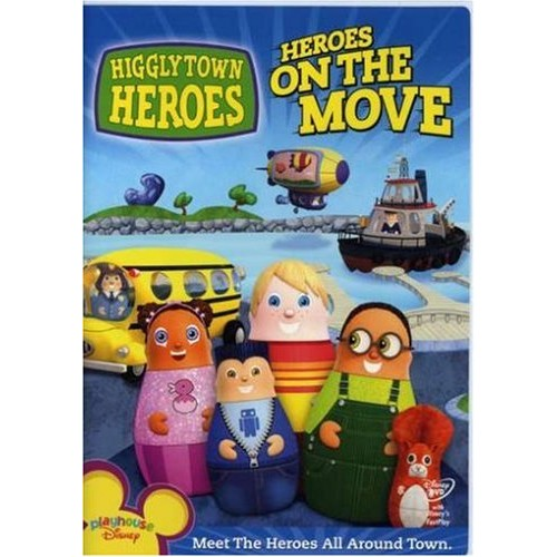 Higglytown Heroes - On the Move: Taylor Masamitsu, Frankie Ryan Manriquez, Rory Charles Thost, Liliana Mumy, Dee Bradley Baker, Kevin Michael Richardson, Edie McClurg, Henry Dittman, Lara Jill Miller, Jim Wise, Katey Sagal, Betty White, Denis Morella, George Evelyn, B.Z. Petroff, Holly Huckins, Ford Riley, Kent Redeker: Movies & TV