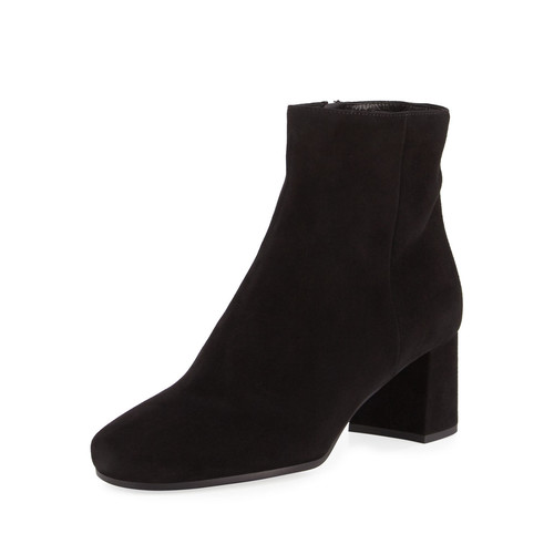 PRADA Suede 55Mm Block-Heel Boot
