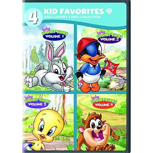 4 Kid Favorites: Baby Looney Tunes Collection [4 Discs] [DVD]