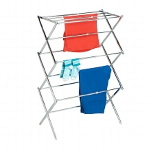 Honey Can Do Expandable Drying Rack Chrome