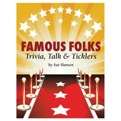 S&S Famous Folks Trivia, Talk and Ticklers Book