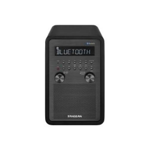 Sangean-WR-50 - Clock radio - 6 Watt - matt black
