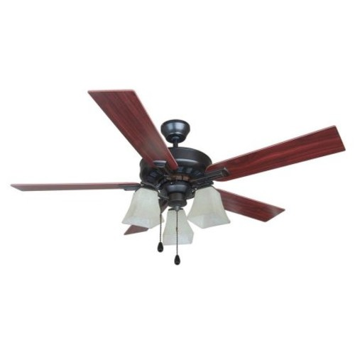 Design House Torino 52 in. Brushed Bronze Ceiling Fan