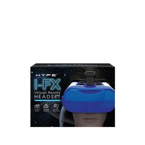 Virtual Reality Headset - Blue