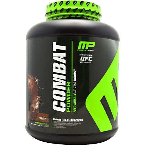 Muscle Pharm Combat Powder Chocolate Milk - 4 lbs: Health & Personal Care [Chocolate Milk - 4 Lb, One Size]