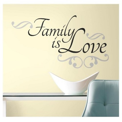 RoomMates Family is Love Peel & Stick Wall Decals