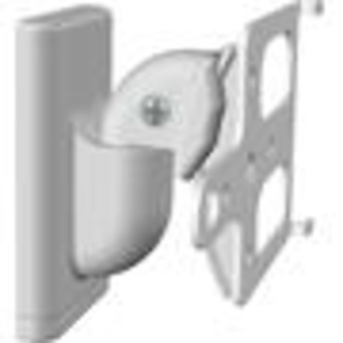 Sanus WSWM2 (White) Pair of adjustable wall-mount brackets for Sonos PLAY:1 and PLAY:3 speakers