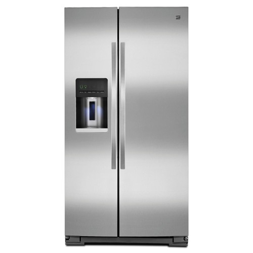 Kenmore 51133 26 cu. ft. Side-by-Side Refrigerator - Stainless Steel