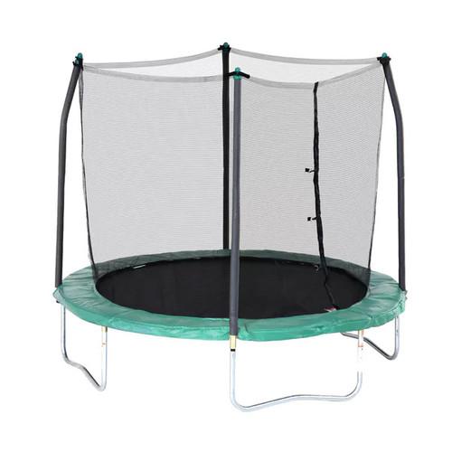 Skywalker Trampolines 8' Round Trampoline with Enclosure - Green
