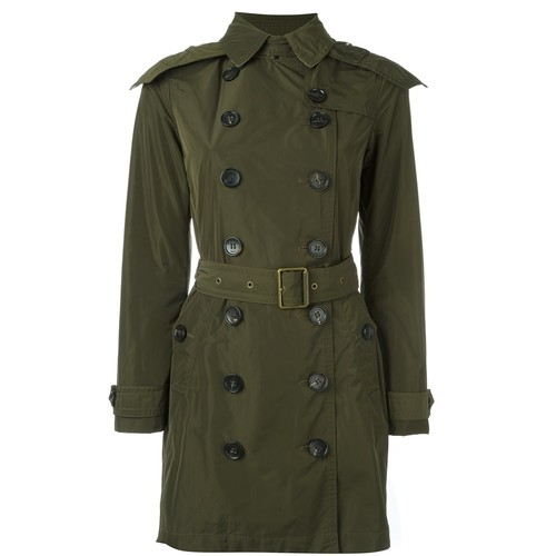 BURBERRY 'Balmoral' Hooded Raincoat