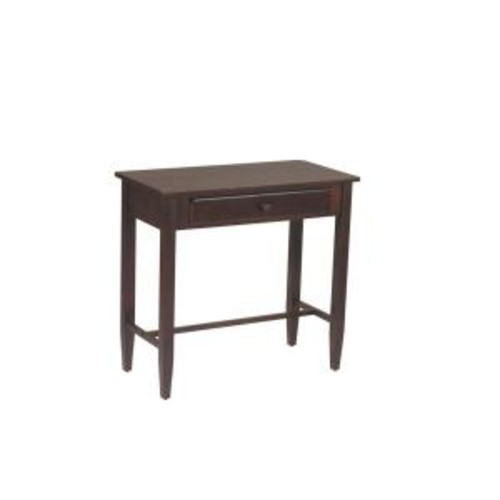 Office Star WorkSmart 28'' H x 30'' W x 15'' D Veneers and Solid Wood Foyer Table; Espresso