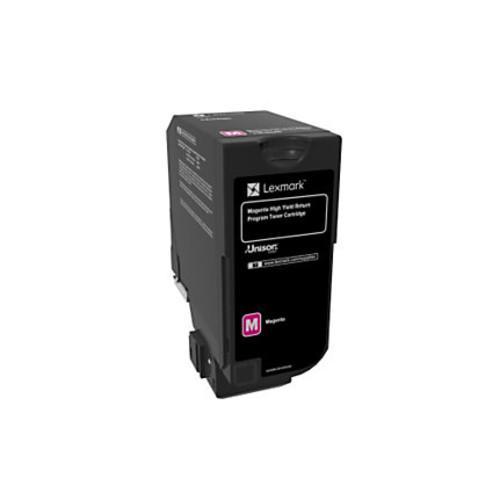 Lexmark Unison High-Yield Return Program Toner Cartridge, CS725, Magenta (74C1HM0)