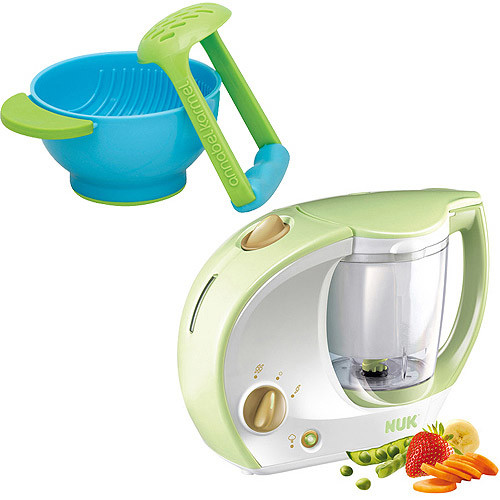 Annabel Karmel FreshFoods Baby Food Maker with Bonus Mash & Serve Bowl