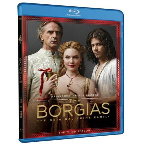 The Borgias: The Final Season [3 Discs] [Blu-ray/DVD]