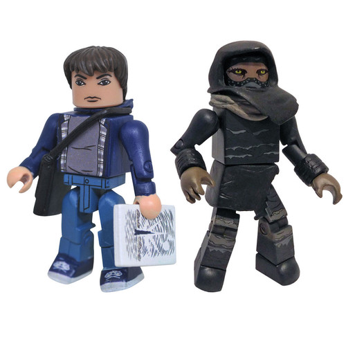 Minimates The Dark Towers 2 inch Action Figure - Jake Chambers and Masked Tracker