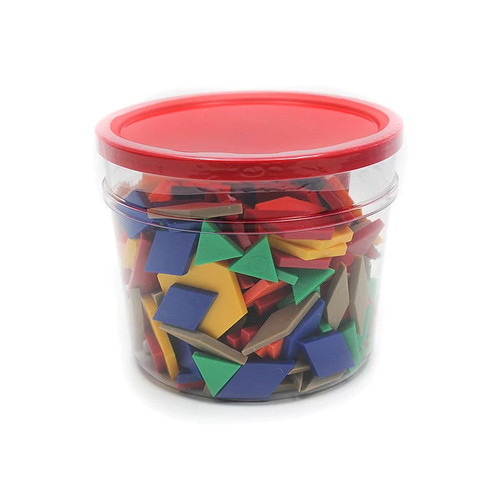 Learning Resources Building Blocks & Sets Pattern Blocks Plastic .5Cm 250/Pk