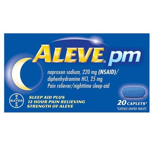 Aleve PM, 220 mg, 20 Caplets