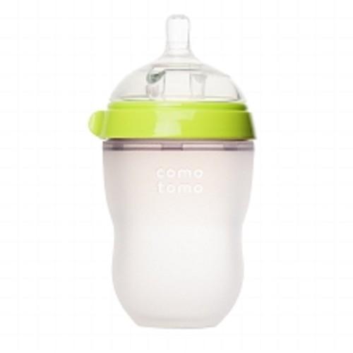 Comotomo Baby Bottle Green