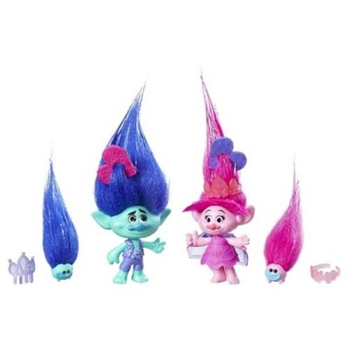 DreamWorks Trolls Poppy and Branch True Colors Set