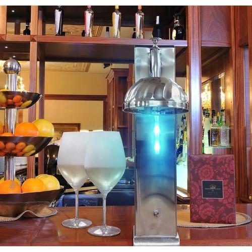 Vinotemp Cooler & Ice Buckets Il Romanzo CO2 Glass Chiller