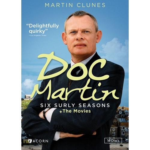 Doc Martin: Six Surly Seasons + The Movies [16 Discs] [DVD]