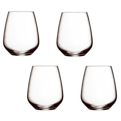 Luigi Bormioli 23.25-oz Crescendo Stemless WineGlasses - S/4