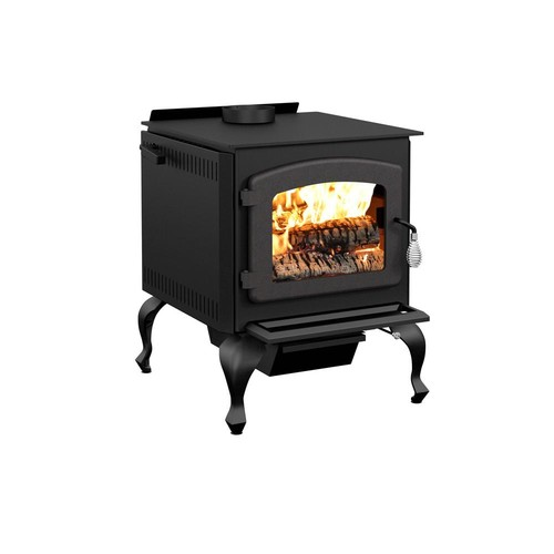 Drolet Legende II 26 in. Wood Stove 2100 sq. ft. with Blower EPA Certified