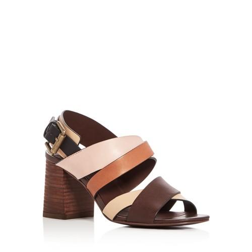SEE BY CHLOÉ City Crisscross High Heel Sandals