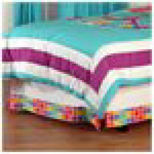 One Grace Place Terrific Tie Dye Bed Skirt
