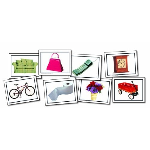 Carson Dellosa Key Education Nouns: Everyday Objects Learning Cards (845003)