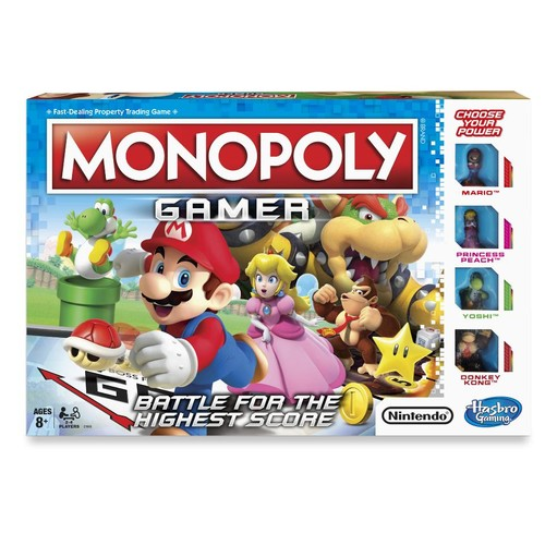 Super Mario Monopoly Gamer Game
