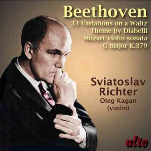 Sviatoslav Richter - Beethoven/Mozart: Diabelli Variations Op. 120/Violin Sonata in G K. 379