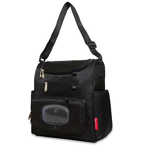 Fisher-Price FastFinder Mini Diaper Bag - Black