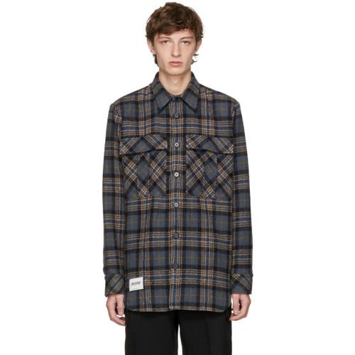 STELLA MCCARTNEY Multicolor Wool Check Jacket