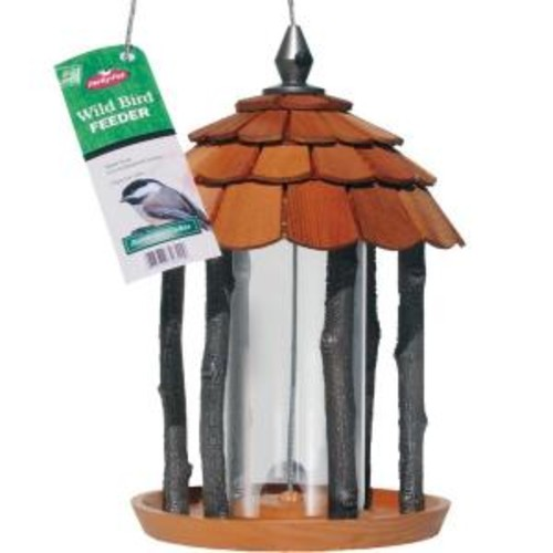 Perky-Pet Gazebo Wood Bird Feeder