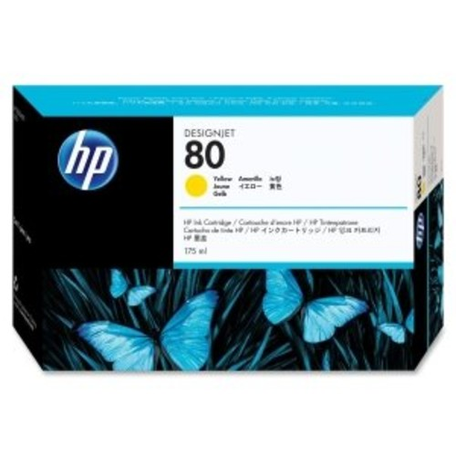 INK, HP NO 80 YELLOW INK 175ML