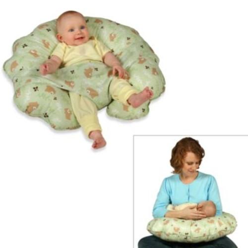 Leachco Cuddle-U Original Nursing Pillow and Support System in Green Euro Bear