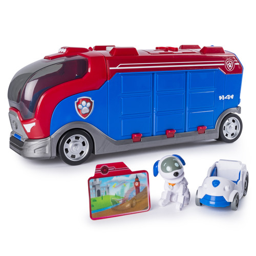 Paw Patrol Mission Paw - Mission Cruiser with Robo Dog