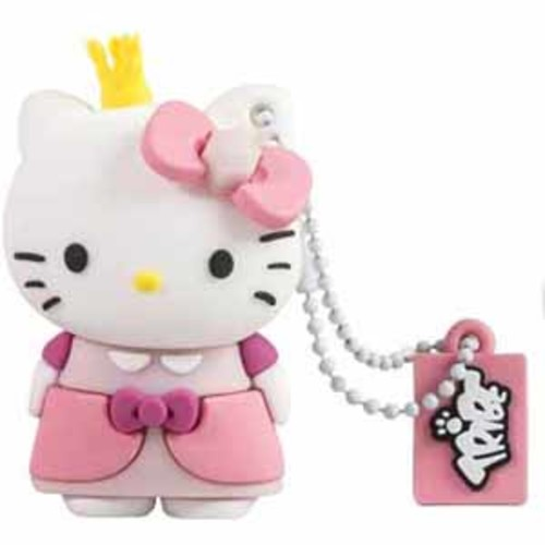 Tribe Hello Kitty Princess 16GB 3D USB 2.0 Flash Drive