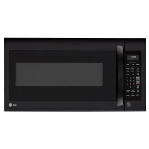 LG Electronics 2.0 cu. ft. Over the Range Microwave in Smooth Black with EasyClean
