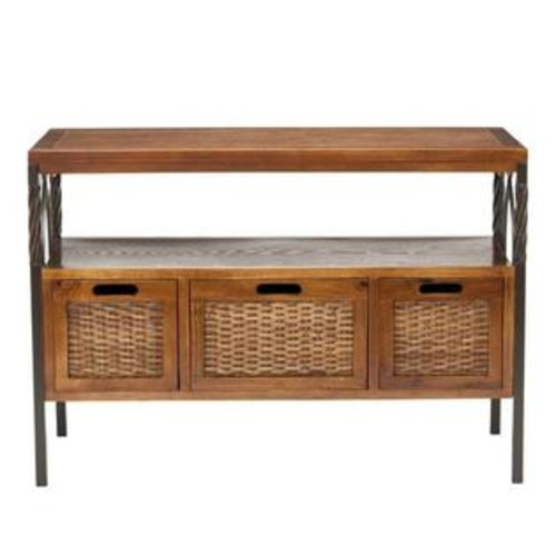 Safavieh Joshua Console Table with 3 Storage Drawers