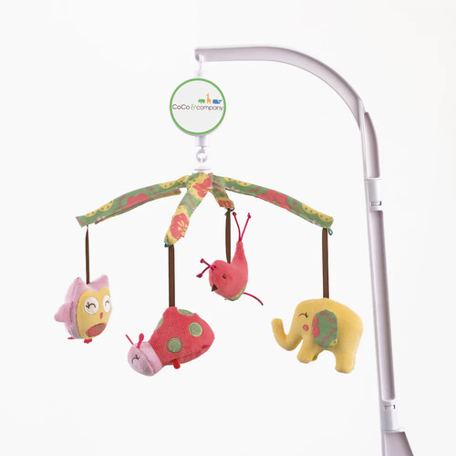 CoCo & Company Musical Mobile, Owl Wonderland (Discontinued by Manufacturer)