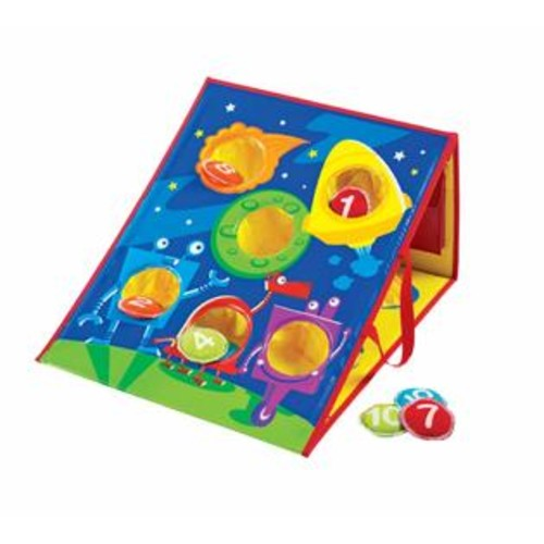 Learning Resources Smart Toss Bean Bags And Game Board Set