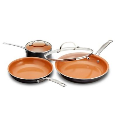 Gotham Steel Ti-Cerama Nonstick 5-Piece Cookware Set