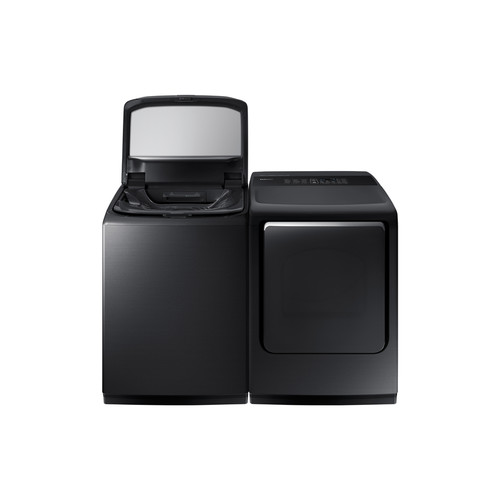 Samsung Activewash 5.2-cu ft High-Efficiency Top-Load Washer (Black Stainless Steel) ENERGY STAR
