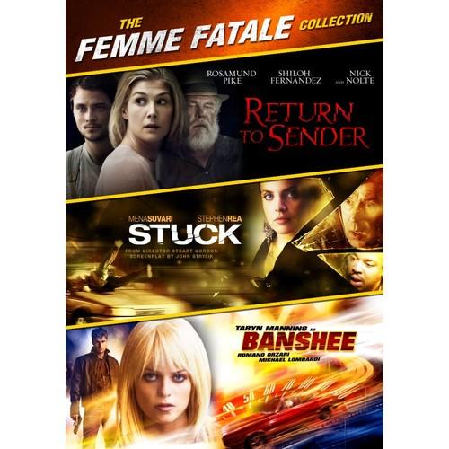 The Femme Fatale Collection: Return to Sender/Banshee/Stuck [DVD]